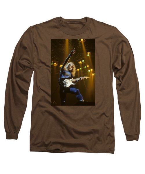 Dave Murray Of Iron Maiden Long Sleeve T-Shirt