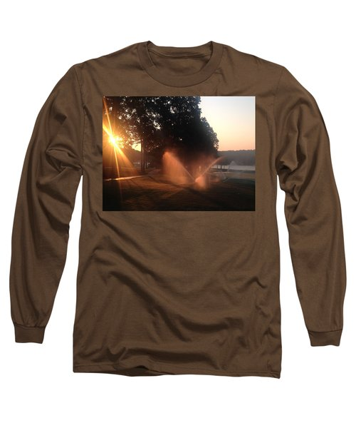 Dawn Golf Course Long Sleeve T-Shirt