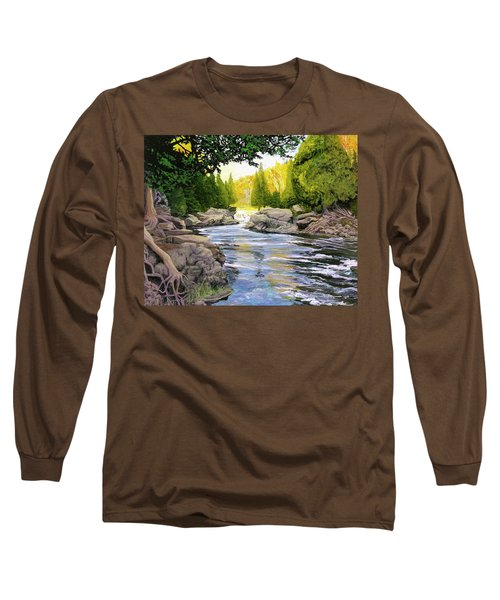 Dawn On The River Long Sleeve T-Shirt