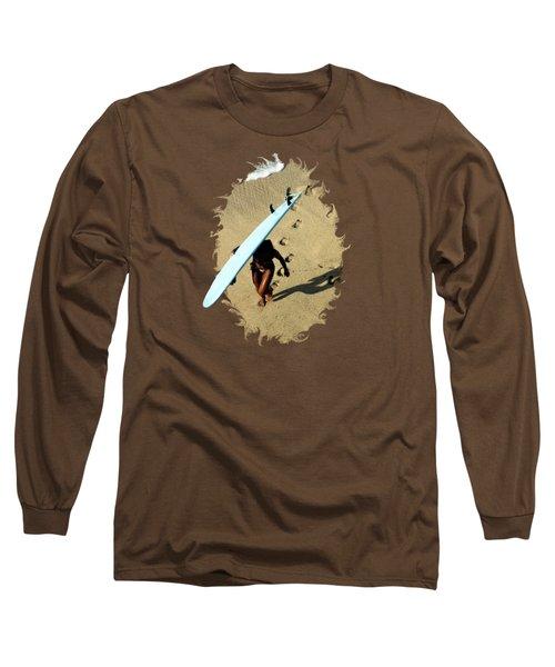 Long Sleeve T-Shirt featuring the photograph Dawn Patrol by DJ Florek