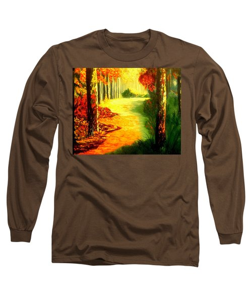 Day Of Rest Long Sleeve T-Shirt by Manuel Sanchez