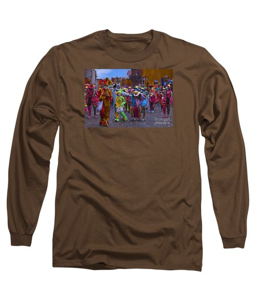 Day Of The Crazies 2013 Long Sleeve T-Shirt by John  Kolenberg