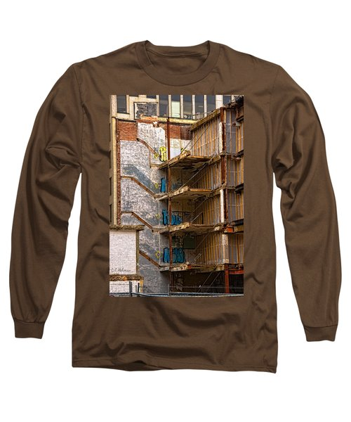 De-construction Long Sleeve T-Shirt