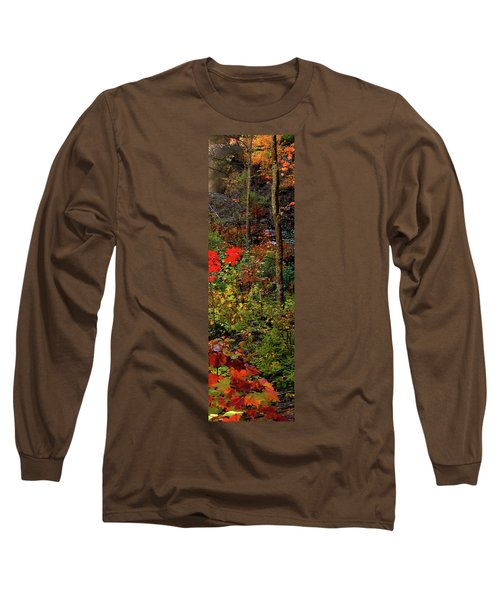 6 Of 6 Dead River Falls  Marquette Michigan Section Long Sleeve T-Shirt