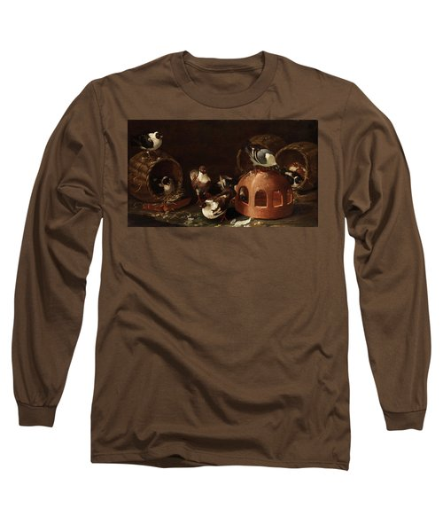 Deaf Between Feed Trough And Baskets Long Sleeve T-Shirt