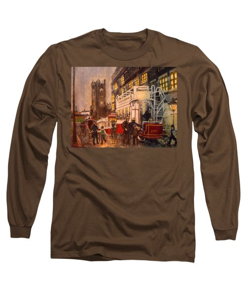 Deansgate With Tram Long Sleeve T-Shirt