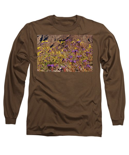 Long Sleeve T-Shirt featuring the photograph Death Valley Superbloom 401 by Daniel Woodrum
