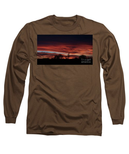 December 2016 Farm Sunset Long Sleeve T-Shirt