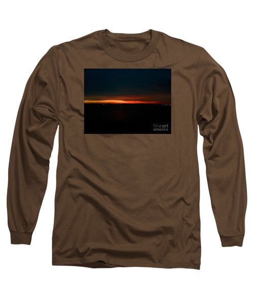 December Dawn,  Rays Of Hope  Long Sleeve T-Shirt by Patricia E Sundik