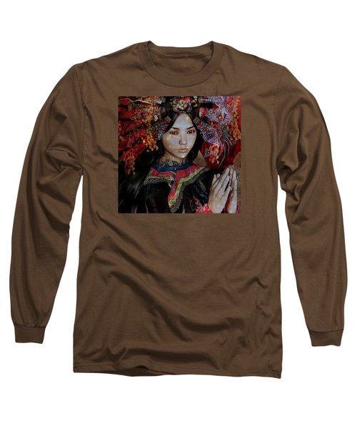 December Vision Long Sleeve T-Shirt by Suzanne Silvir