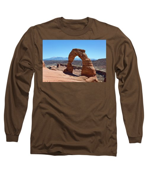 Delicate Arch Arches National Park Long Sleeve T-Shirt