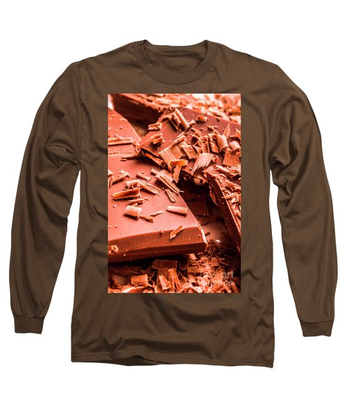 Delicious Bars And Chocolate Chips  Long Sleeve T-Shirt
