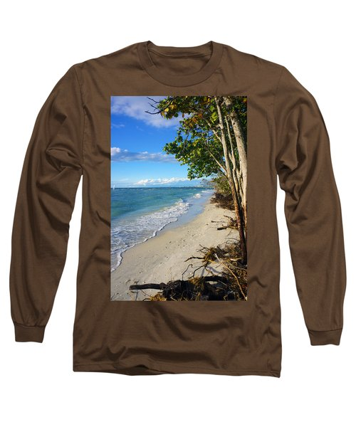 Delnor Wiggins Pass State Park Long Sleeve T-Shirt