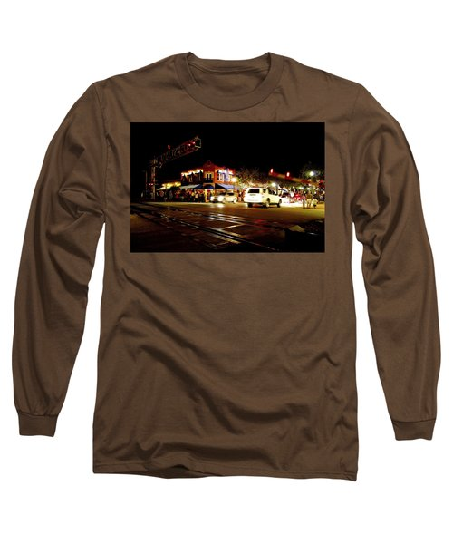 Delray Beach Railroad Crossing Long Sleeve T-Shirt