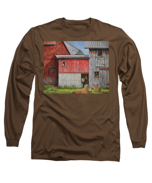 Deluxe Accommodations Long Sleeve T-Shirt