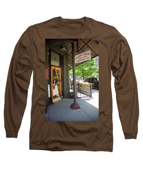 Long Sleeve T-Shirt featuring the photograph Denver Happy Hour by Frank Romeo