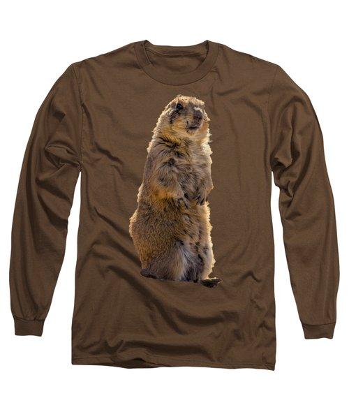 Desert Dawg Long Sleeve T-Shirt by Mark Myhaver
