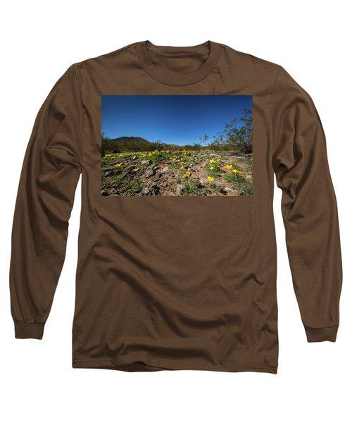 Desert Flowers In Spring Long Sleeve T-Shirt