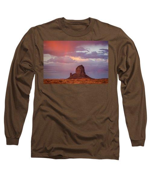 Desert Rainbow Long Sleeve T-Shirt