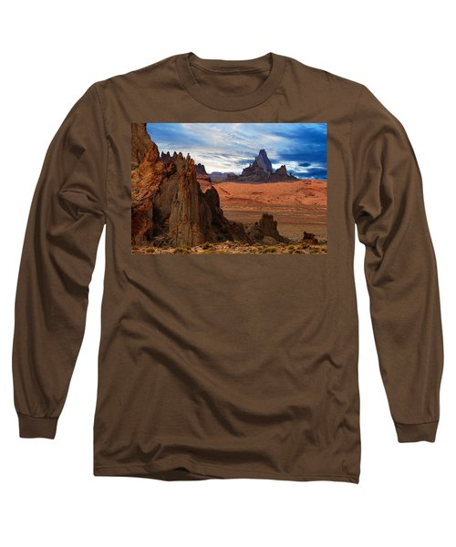 Long Sleeve T-Shirt featuring the photograph Desert Rocks by Harry Spitz