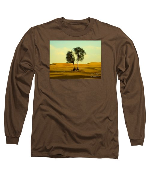 Desert Trees Long Sleeve T-Shirt