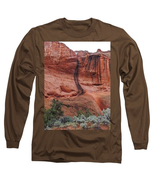 Desert Varnish Along Burr Trail Long Sleeve T-Shirt