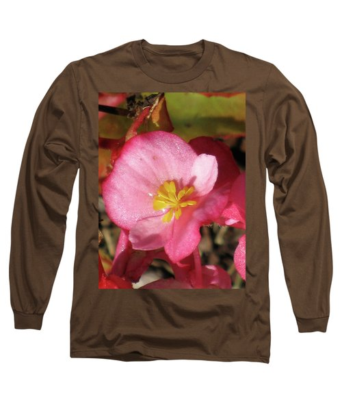 Dew Touched Long Sleeve T-Shirt by Michele Wilson
