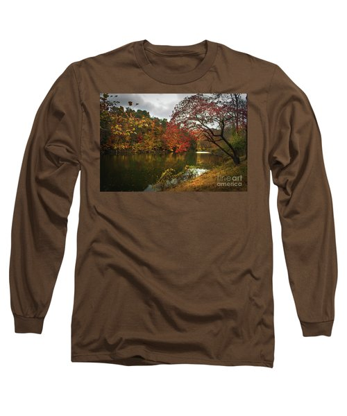 Dewey Lake In Autumn Long Sleeve T-Shirt