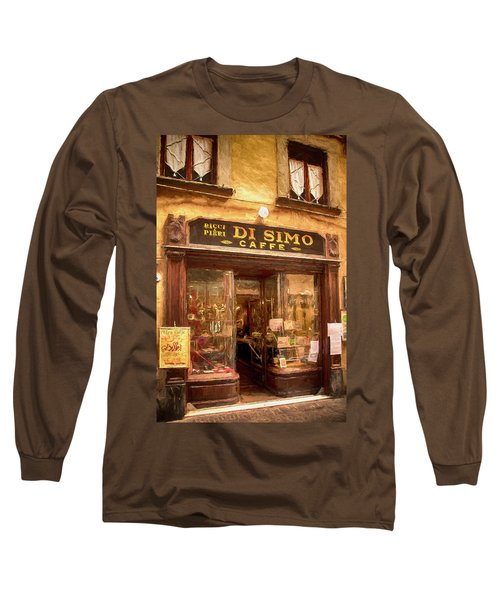 Di Simo Caffe Long Sleeve T-Shirt