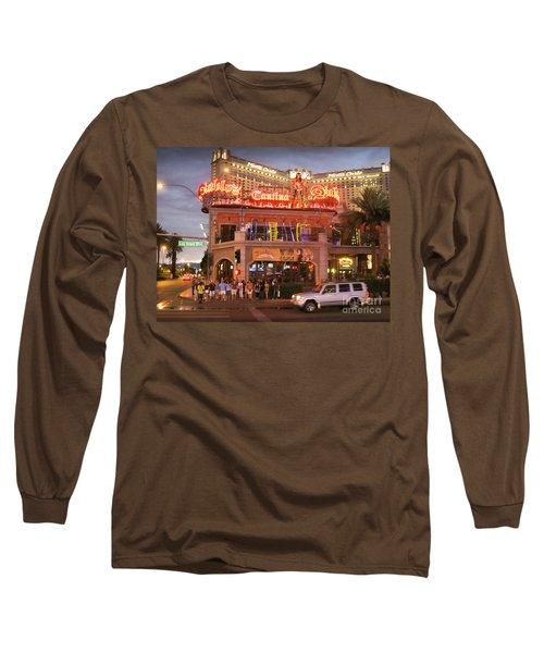Diablo's Cantina In Las Vegas Long Sleeve T-Shirt by RicardMN Photography