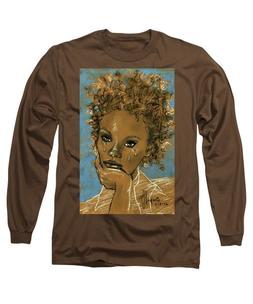 Diamond's Daughter Long Sleeve T-Shirt by P J Lewis