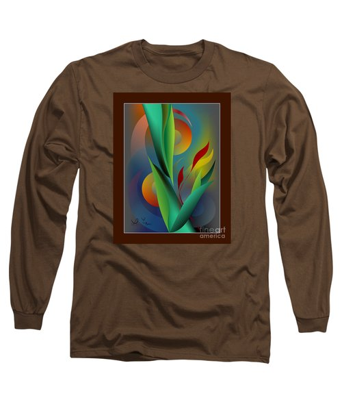 Digital Garden Dreaming Long Sleeve T-Shirt