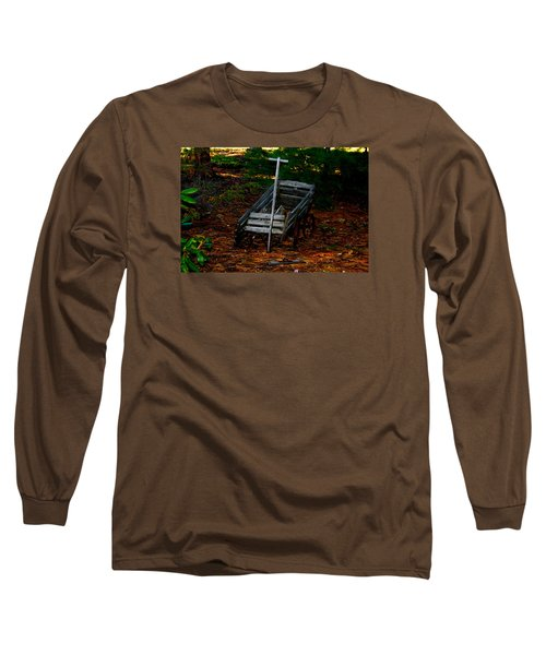 Dilapidated Wagon Long Sleeve T-Shirt