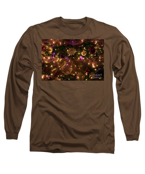 Dim The Lights Long Sleeve T-Shirt by Marie Neder