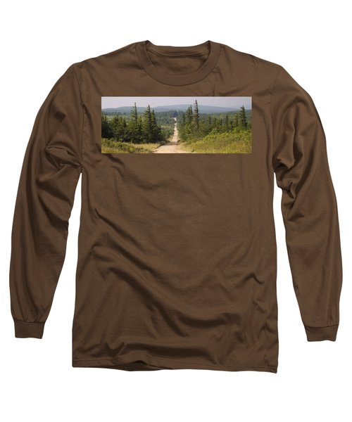 Dirt Road To Dolly Sods Long Sleeve T-Shirt