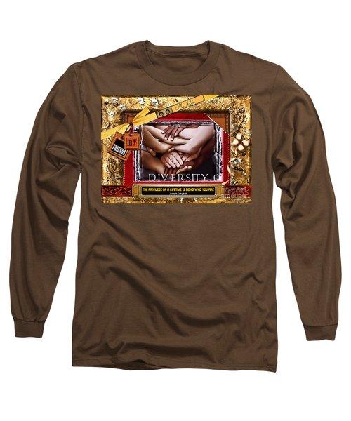 Diversity Long Sleeve T-Shirt