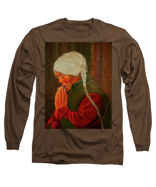 Divine Power Of Prayer Long Sleeve T-Shirt