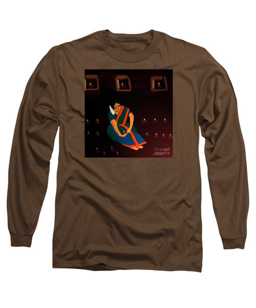 Diwali-the Night Of Diyas Long Sleeve T-Shirt