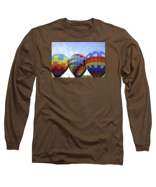 Do We Chance It? Long Sleeve T-Shirt by Linda Geiger