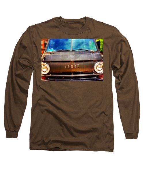 Dodge In Town Long Sleeve T-Shirt by Olivier Calas