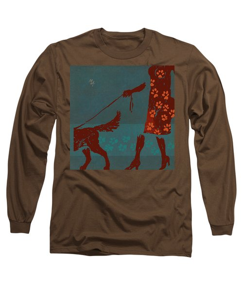Dog Walker Long Sleeve T-Shirt