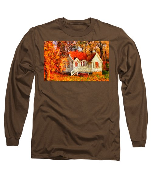 Doll House And Foliage Long Sleeve T-Shirt