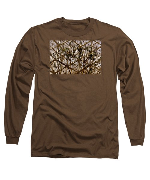 Domes Long Sleeve T-Shirt by Michael Nowotny