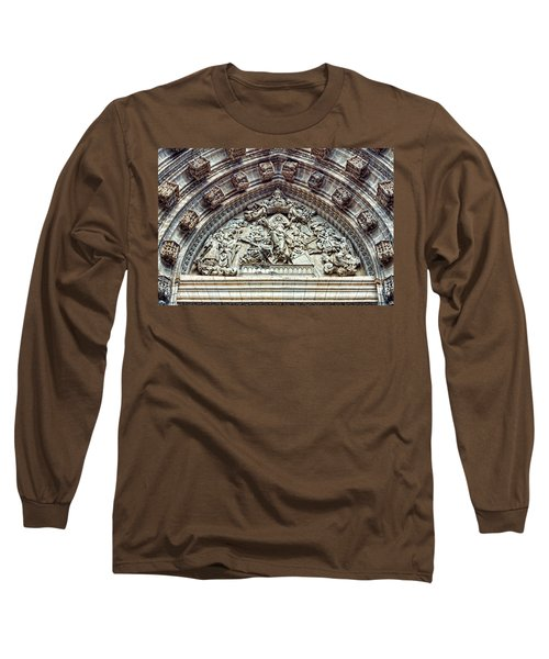 Door Of Assumption - Detail, Seville Cathedral, Spain Long Sleeve T-Shirt