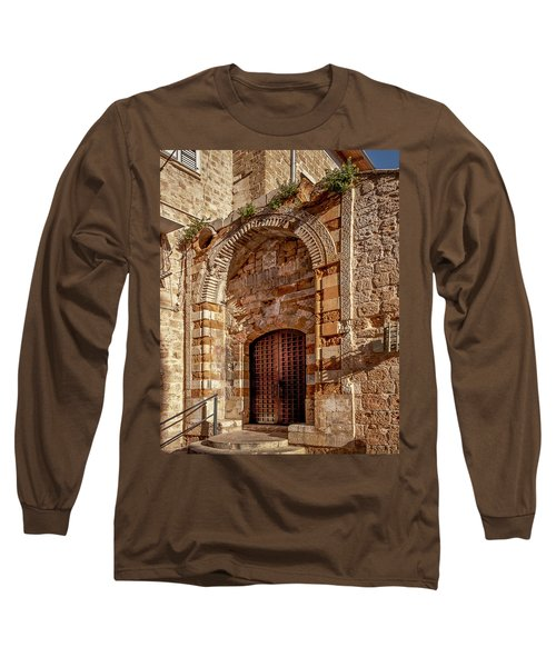 Doorway In Akko Long Sleeve T-Shirt
