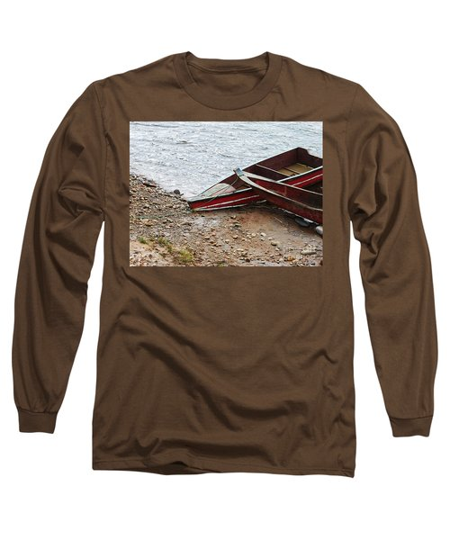 Dos Barcos Long Sleeve T-Shirt by Kathy McClure