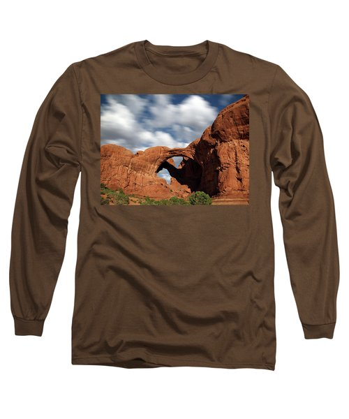 Double Arch In The Moonlight Long Sleeve T-Shirt