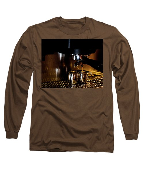Double Shot Of Espresso 2 Long Sleeve T-Shirt