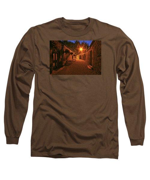 Down The Alley Long Sleeve T-Shirt by Robert Och