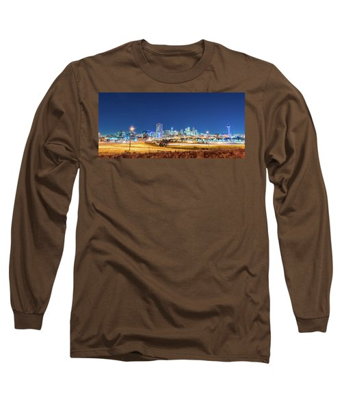 Downtown Denver Under The Stars Long Sleeve T-Shirt